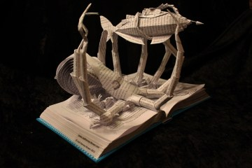 jodi harvey-brown book sculpture 14