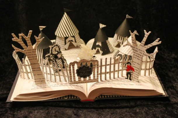 jodi harvey-brown book sculpture 3