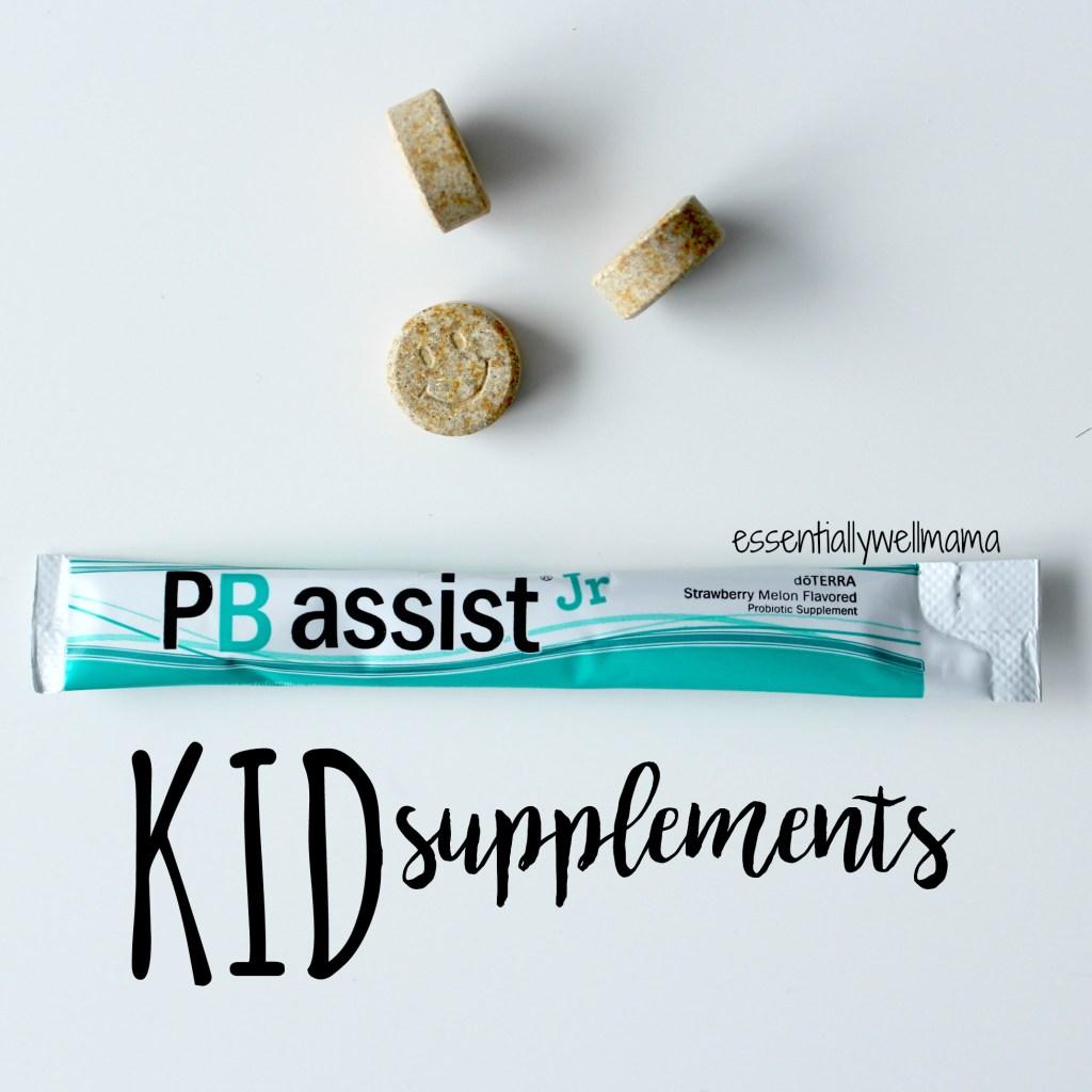 kid supplements essential oils