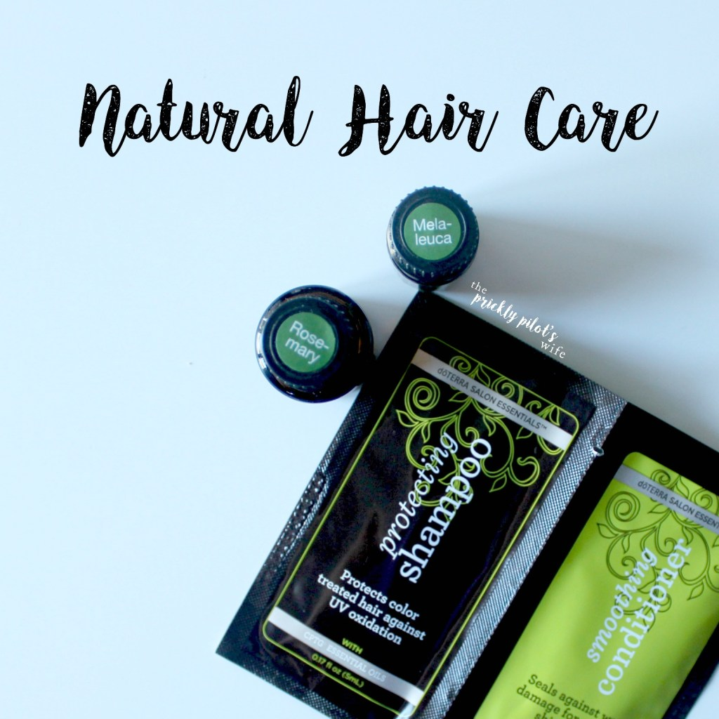 natural hair care essential oils