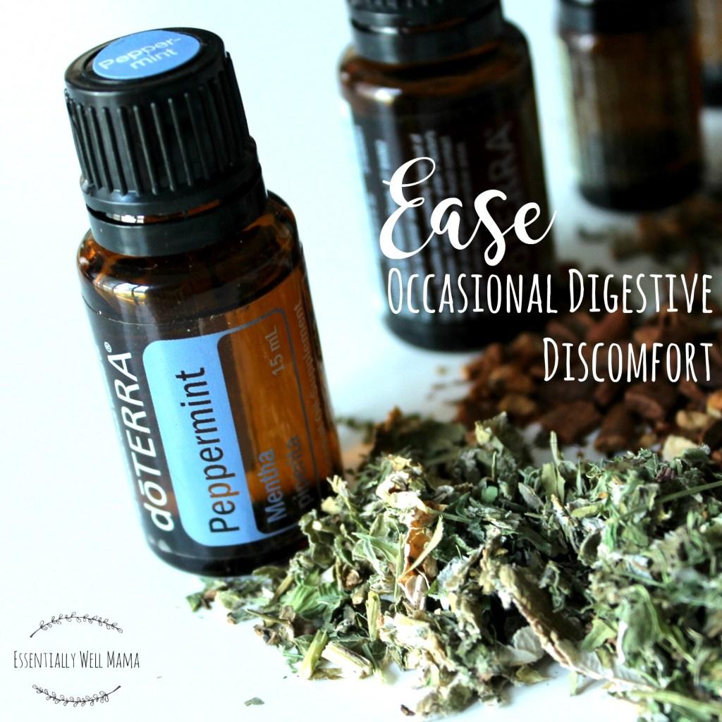 peppermint digestive discomfort