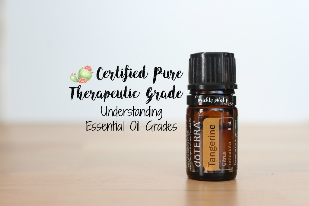 Certified Pure Therapeutic Grade Essential Oils