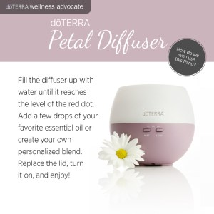 Petal Diffuser top must have essential oil accessories