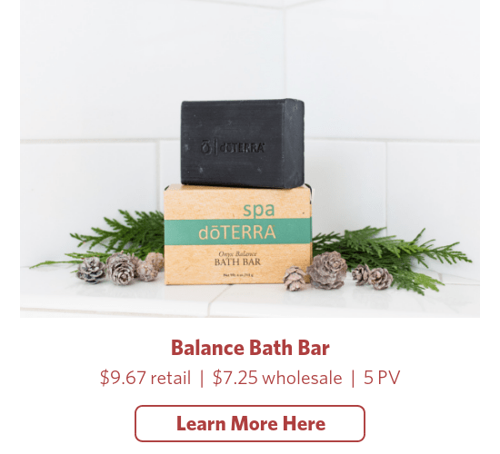 doterra balance bath bar soap