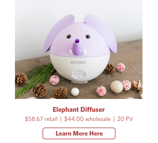 doterra holiday elephant diffuser