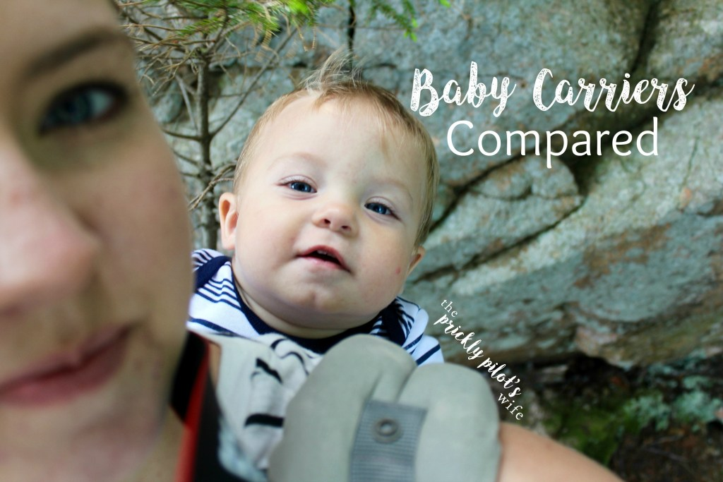 baby Carriers Compared babywearing