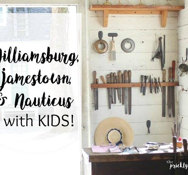 Visit Williamsburg, Jamestown, & Nauticus with Kids!