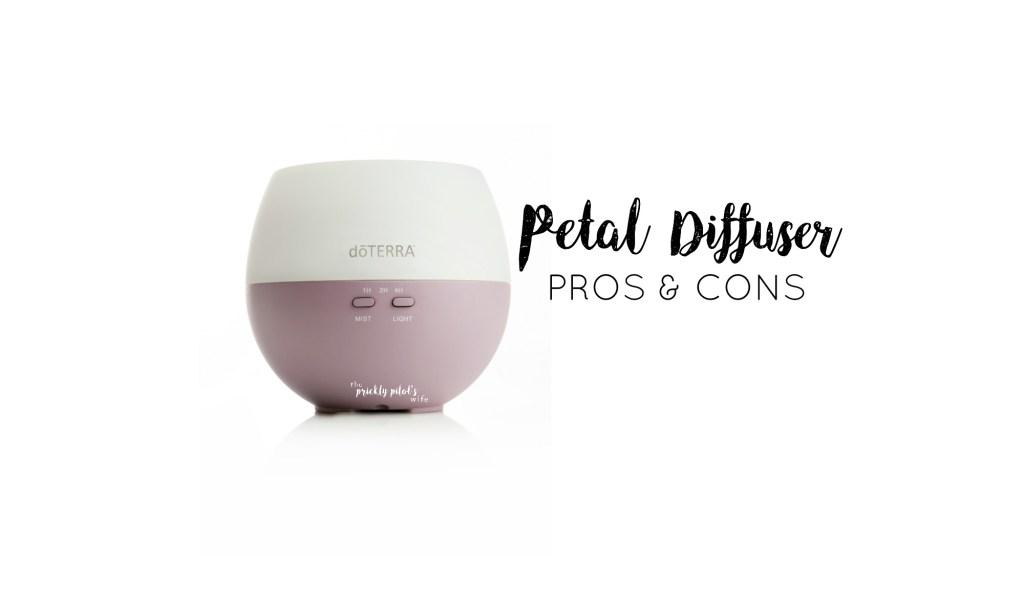 doterra petal diffuser pros cons essential oils