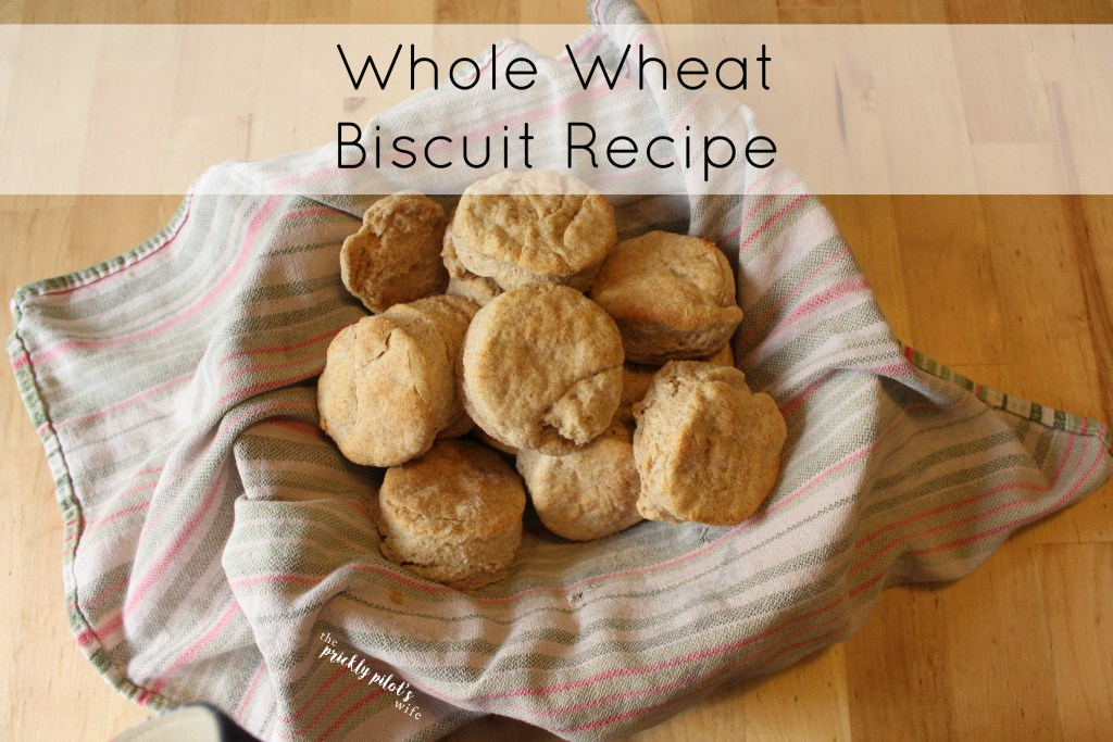 whole wheat biscuit recipe