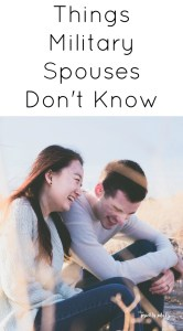 things military spouses don't know