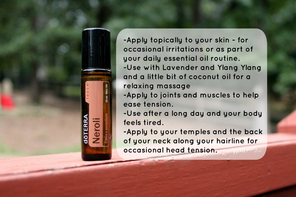 doterra neroli essential oil uses