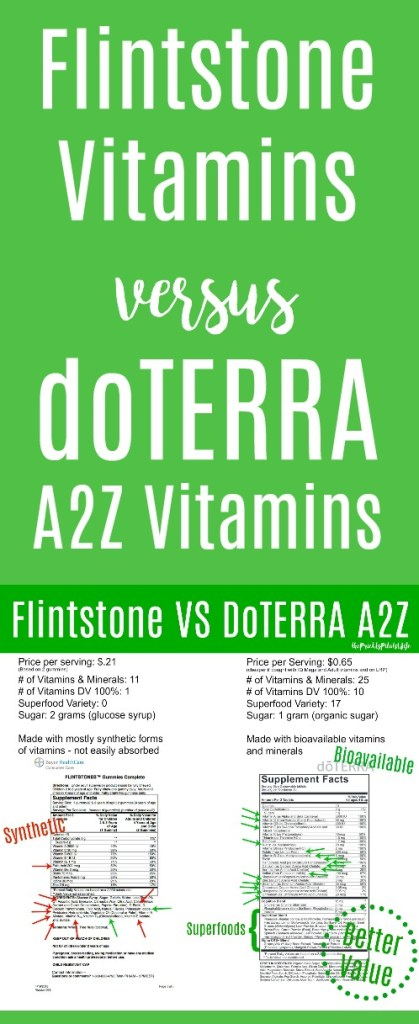 flintstone vitamins versus doterra a2z