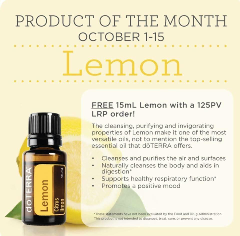 doterra october promotions