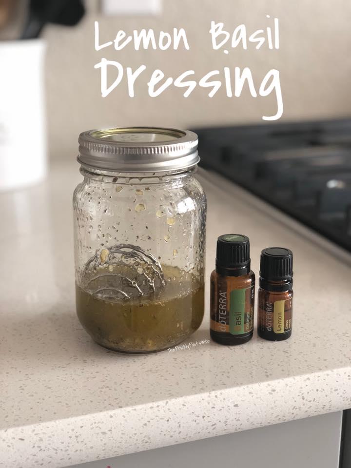 lemon basil salad dressing recipe