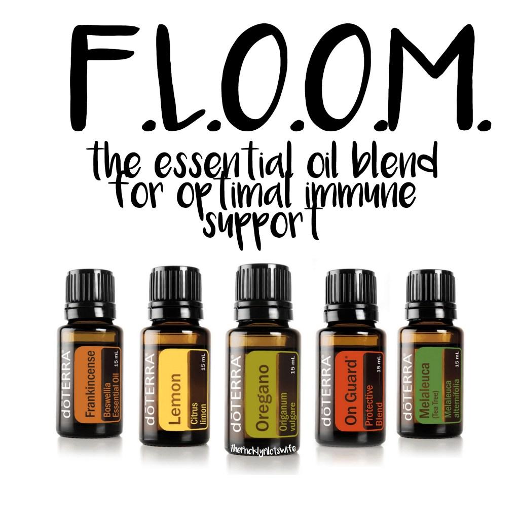 doterra floom recipe immune support essential oils
