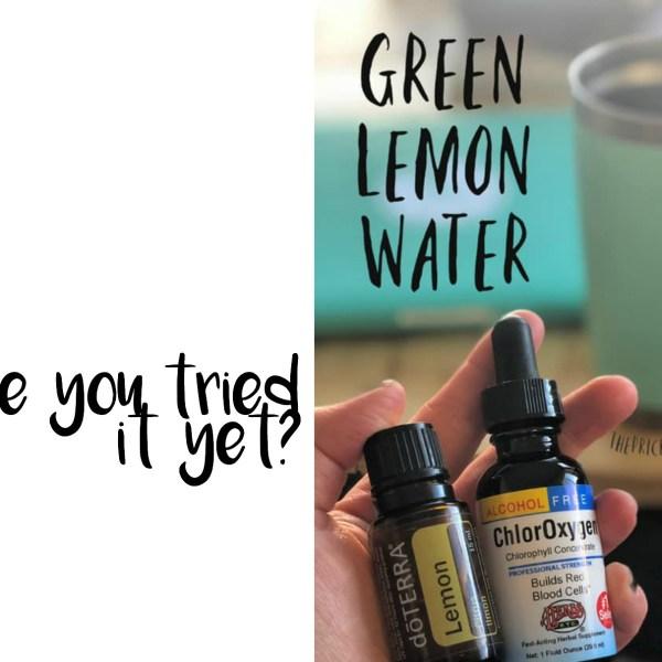 Green Lemon Water