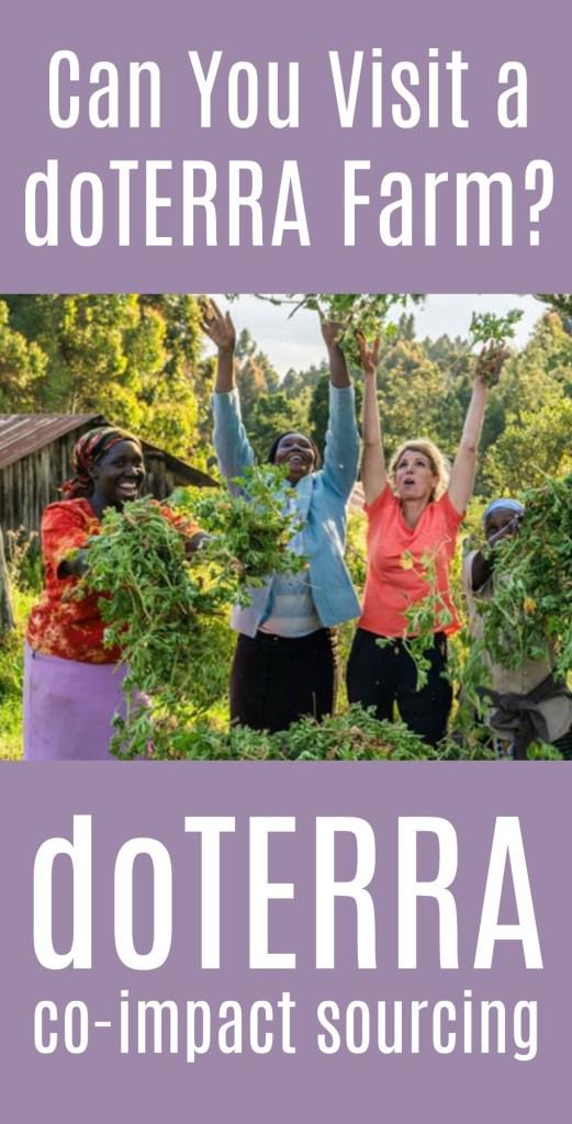 visit a doterra farm co impact sourcing