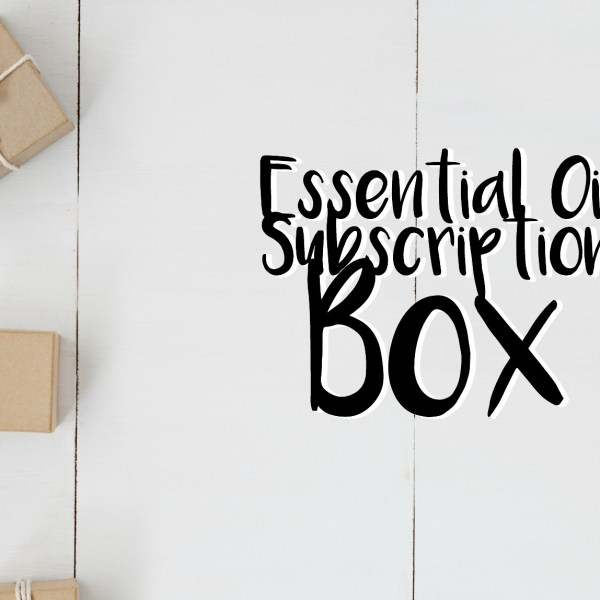 Essential Oil Subscription Box