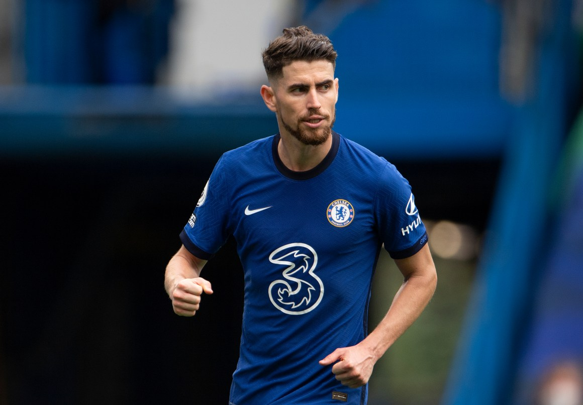 Jorginho's days at Chelsea seem numbered at this point