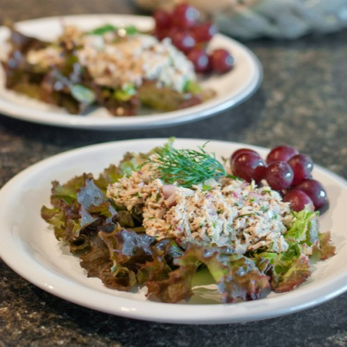 Paleo Tuna Salad on Lettuce - www.ThePrimalDesire.com