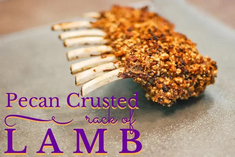 Pecan Crusted Rack of Lamb - www.ThePrimalDesire.com