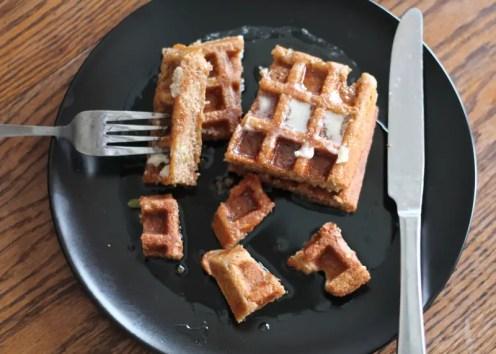 Nutty Waffles 04