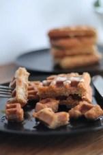 Nutty Waffles 05