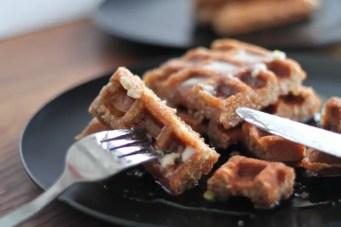 Nutty Waffles 06