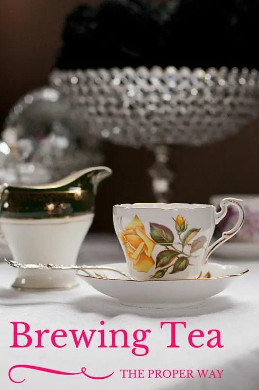 Brewing Tea, the proper way - www.ThePrimalDesire.com