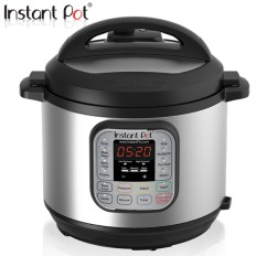Instant Pot DUO 60 used to make dairy-free butter chicken