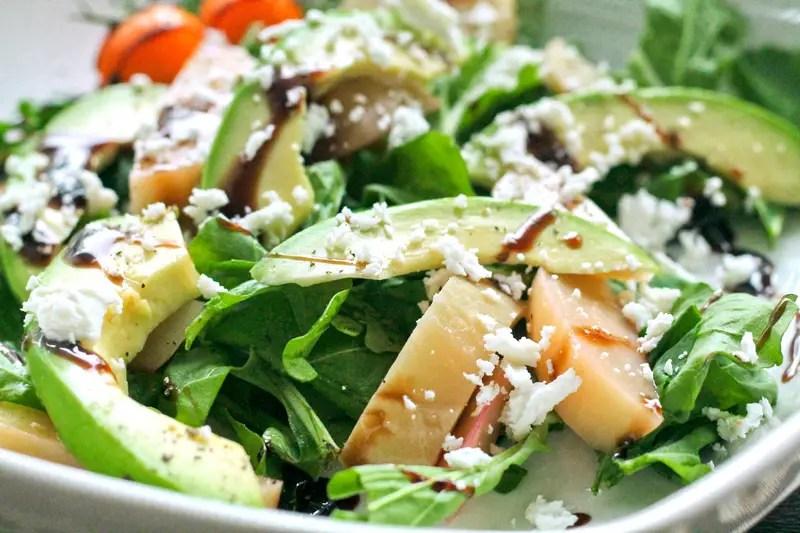 Golden Beet Salad - Beautiful and soooo flavorful! - https://www.theprimaldesire.com/golden-beet-salad/