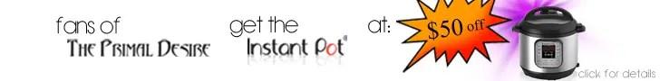 $50 off Instant Pot