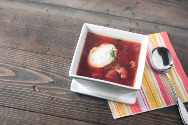 Instant Pot Beet Borscht is packed with vegetables and warm borscht goodness. A classic recipe made paleo- and Instant Pot- friendly. https://www.theprimaldesire.com/instant-pot-beet-borscht/