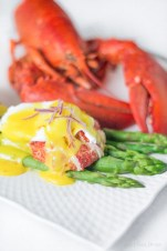 Rich and decadent, Lobster Benedict with Saffron Hollandaise sauce is a great way to start any day! http://wp.me/p4Aygm-2h5