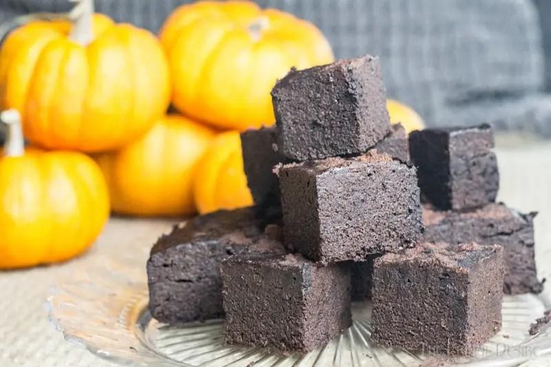 Gluten free Instant Pot Punpkin Brownies