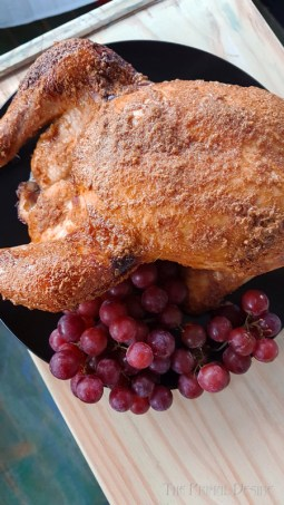 A great weeknight dinner, classic with a paleo twist honey garlic roast chicken. This recipe will please the whole family and it's so easy!