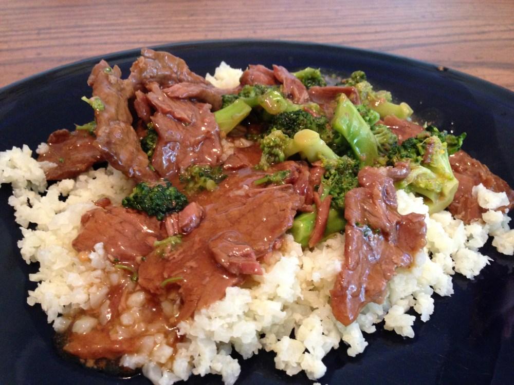 Primal Crockpot Beef & Broccoli w/ Cauliflower Rice (3/3)