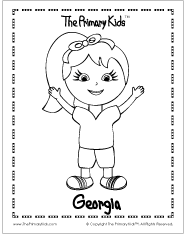 Coloring Pages of The Primary Kids