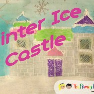 Free Art Lesson-Winter Ice Castle