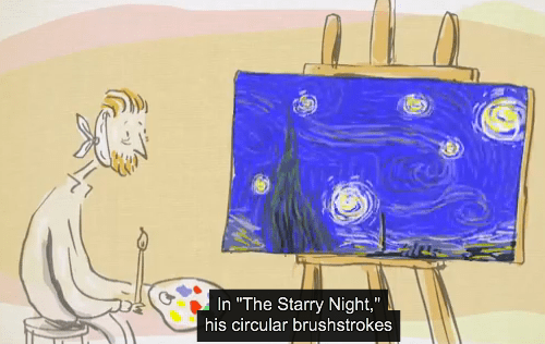 Van Gogh and Math - TED-Ed video