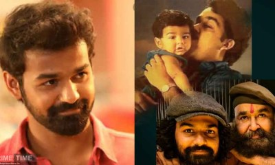 Father kissing baby Appu on the cheek; Mohanlal wishes Pranav's birthday!