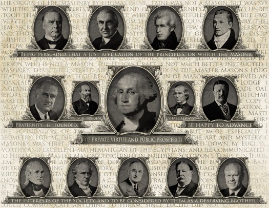 freemasons, presidents, America
