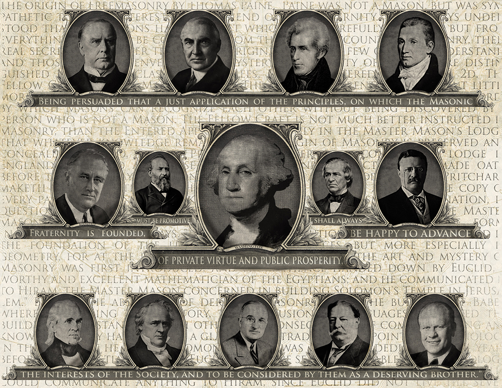 freemasons, presidents, America