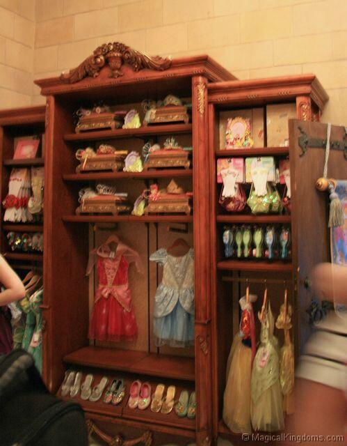Bibbidi Bobbidi Boutique Cinderella Castle wdw