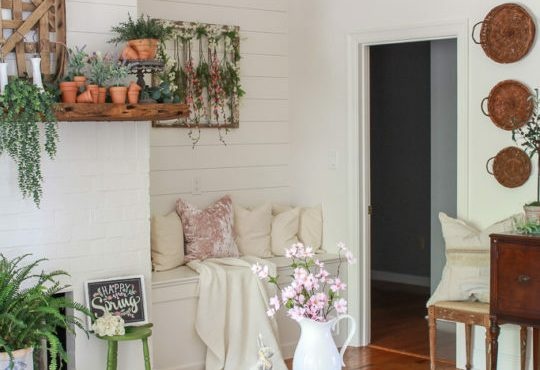 Stunning Spring Living Room Decor