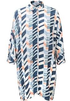 Kiyoko Collection - Haruko Print Shirt, Oliverbonas.com