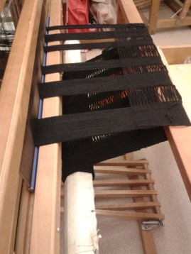 Onto the loom, lots more to go!