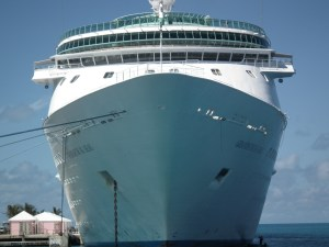 The executives learned a lot from the dopes at Carnival about how not to manage a crisis on a ship. Following a fire on the Grandeur of The Seas, RCCL took every imaginable step to make passengers comfortable and return them home quickly. THE PRIVATEER CLAUSE photo