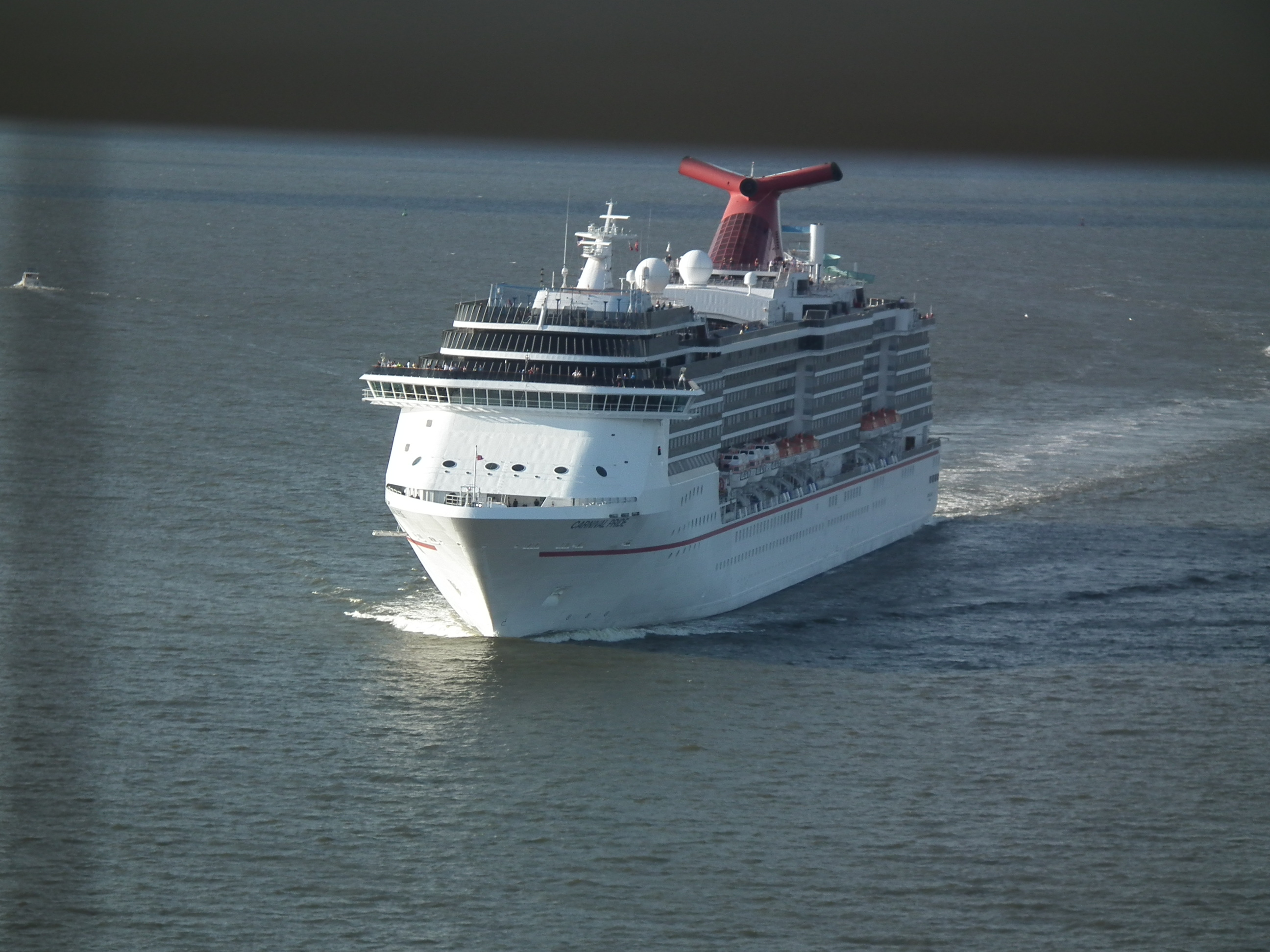 Coast Guard rescue of passenger from Carnival Pride in Atlantic
