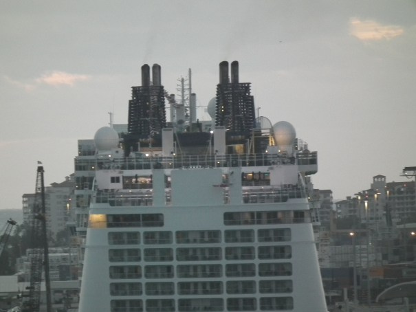 Norwegian Epic docks in Miami. THE PRIVATEER CLAUSE photo